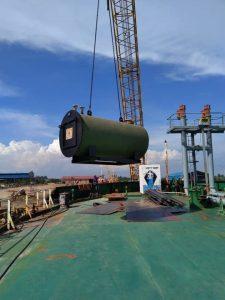 marine boiler tanker SPB