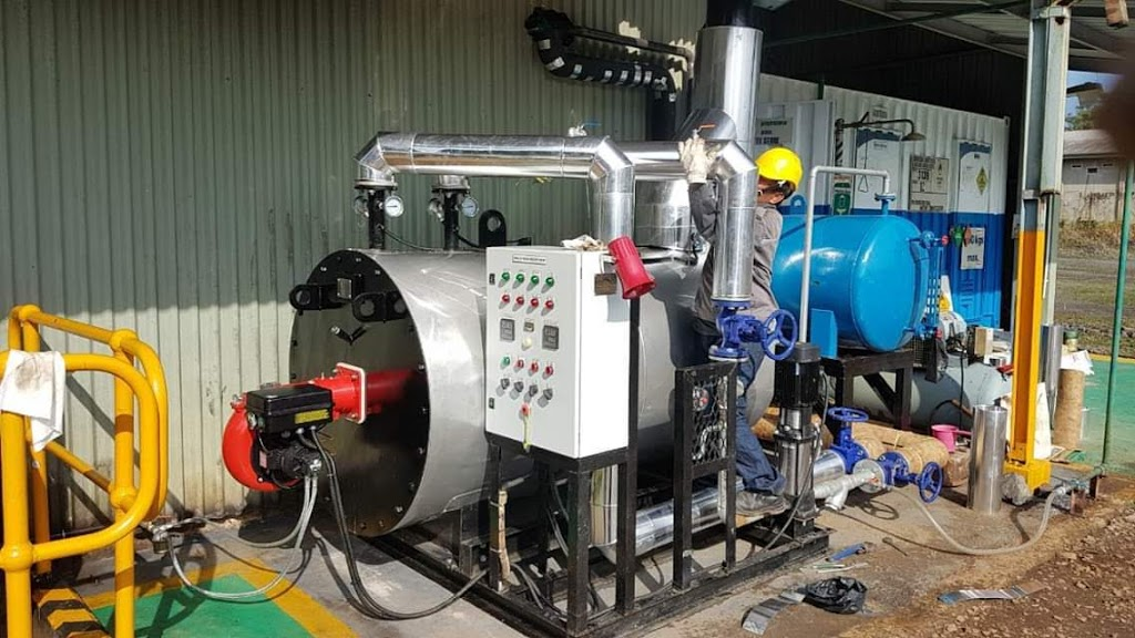 jual thermal oil boiler