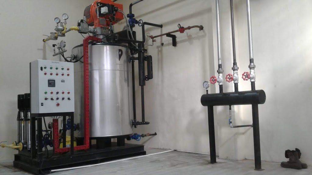 boiler vertical water tubes