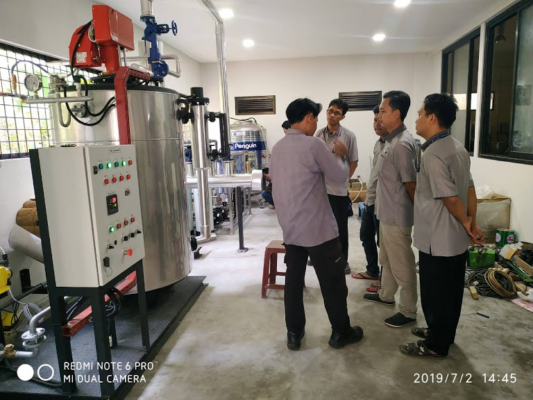 Industrial Vertical Boiler