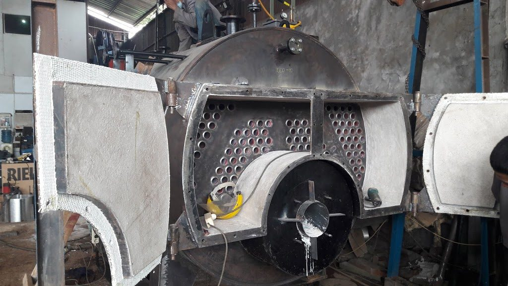 reapire fire tube boiler