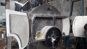 reapire fire tube boiler
