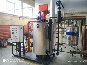 efisiensi Vertical Steam Boiler