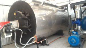 thermal oil heater marine tanker