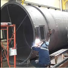 Retubing boiler